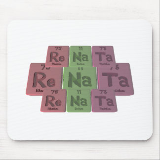 Renata  as Rhenium Sodium Tantalum Mouse Pad