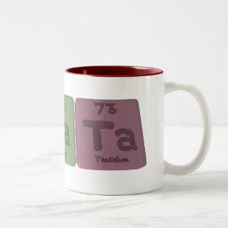 Renata  as Rhenium Sodium Tantalum Two-Tone Coffee Mug