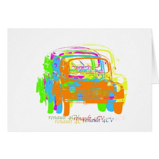 Renault 4CV Felicitaciones