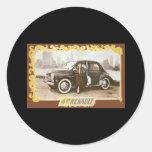 Renault Classic Round Sticker