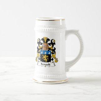 Renault Family Crest Beer Stein