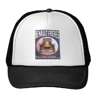 Renault Freres French Automobile Advertisement Trucker Hat