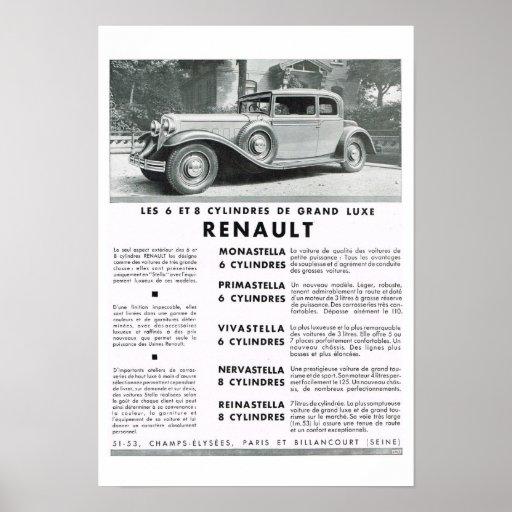 Renault Poster