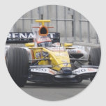 Renault Pegatina Redonda