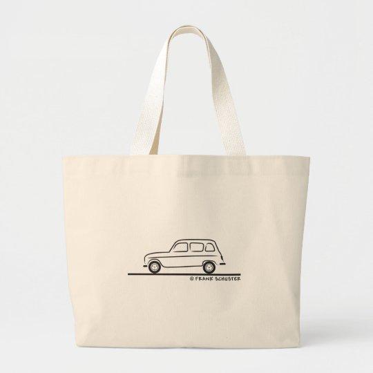 Renault R4 Large Tote Bag