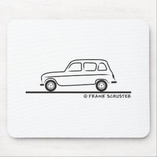 Renault R4 Tapete De Ratones