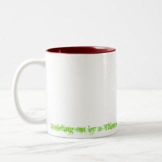Rend the...coffee Two-Tone coffee mug