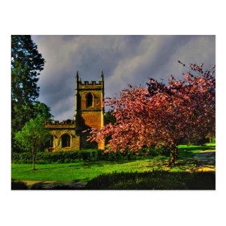 Rendcomb Parish Church Postcard