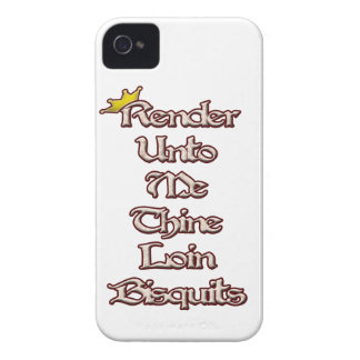 Render Unto Me Thine Loin Biscuits iPhone 4 Case-Mate Cases