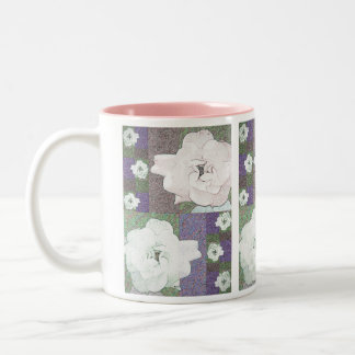 Rendered Rose Mug