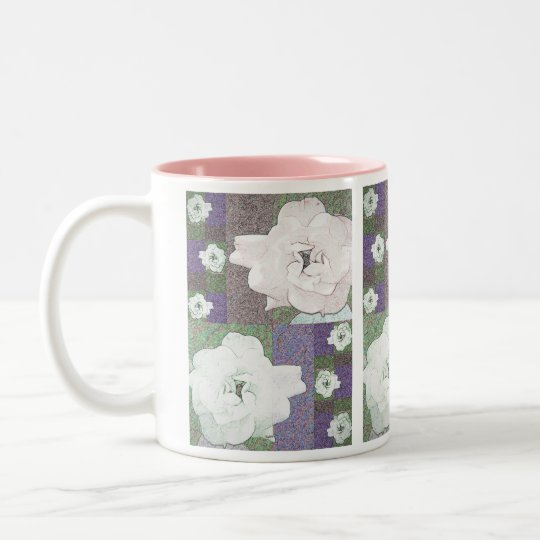 Rendered Rose Mug