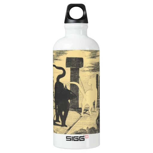 Rendevouz of Cats by Edouard Manet SIGG Traveler 0.6L Water Bottle