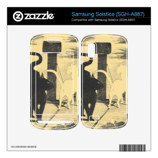 Rendevouz of Cats by Edouard Manet Skin For Samsung Solstice