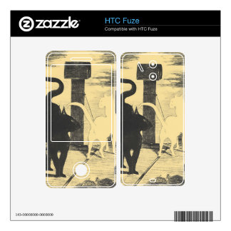 Rendevouz of Cats by Edouard Manet HTC Fuze Decals