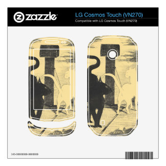 Rendevouz of Cats by Edouard Manet LG Cosmos Touch Decal