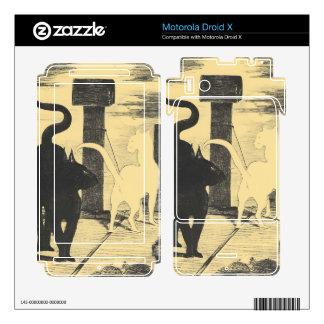 Rendevouz of Cats by Edouard Manet Motorola Droid X Decal