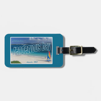 Rendezvous Bay, Anguilla Luggage Tag