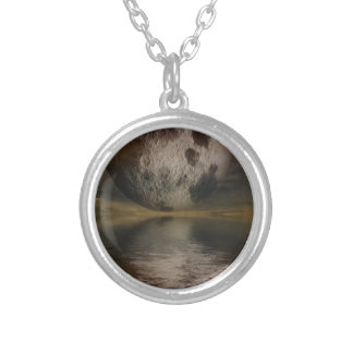 Rendition of the Moon Over Water Necklaces