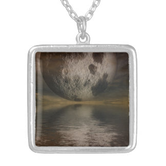 Rendition of the Moon Over Water Custom Necklace