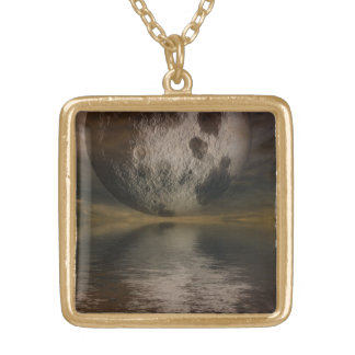 Rendition of the Moon Over Water Jewelry