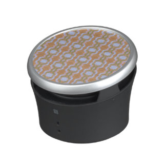 Rendition of vintage wall paper bluetooth speaker