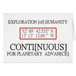 Rendlesham Binary Code Scientific UFO Conspiracy Card