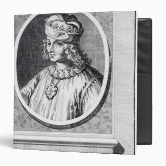 Rene d' Anjou, King of Naples Binder