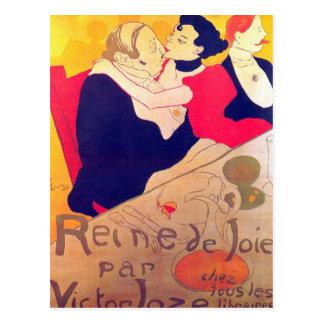 Rene de Joie por Toulouse-Lautrec Postal