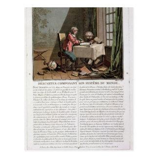 Rene Descartes (1596-1650) que escribe su syste Tarjeta Postal