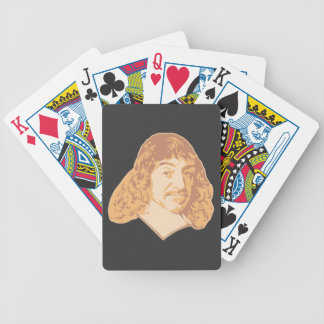 Rene Descartes Bicycle Playing Cards