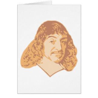 Rene Descartes Card