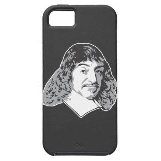 Rene Descartes iPhone 5 Case-Mate Protectores