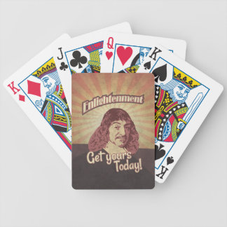 René Descartes, Get Enlightenment! Bicycle Playing Cards