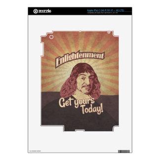 René Descartes, Get Enlightenment! Decals For iPad 3