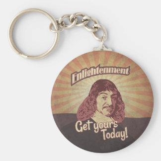 René Descartes, Get Enlightenment! Keychain