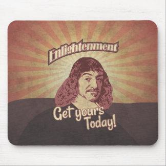 René Descartes, Get Enlightenment! Mouse Pad