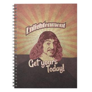 René Descartes, Get Enlightenment! Notebook