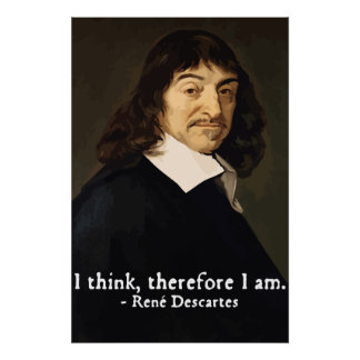 descartes i think therefore i am essay Free essay: through skepticism and doubt descartes raised a simple yet complex question, what can i be certain of if i doubt everything struck by all of the.