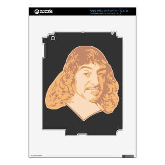 Rene Descartes iPad 3 Skin