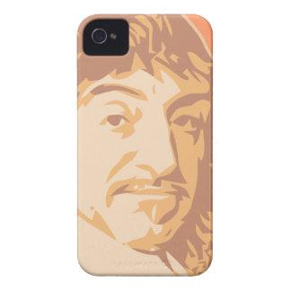 Rene Descartes iPhone 4 Protectores