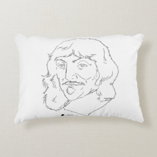 Rene Descartes Pillow
