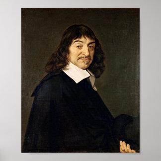 René Descartes Print