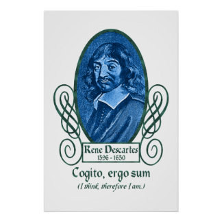 René Descartes Póster