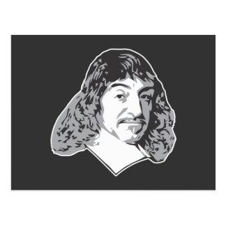 Rene Descartes Tarjeta Postal