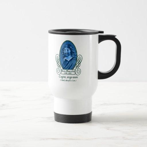 René Descartes Travel Mug