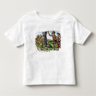 Rene Goulaine de Laudonniere  and Chief Athore Toddler T-shirt