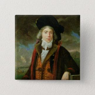 Rene-Nicolas Dufriche  Baron Desgenettes Button