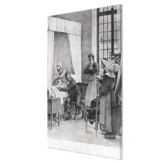 Rene Theophile Hyacinthe Laennec Canvas Print