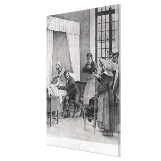 Rene Theophile Hyacinthe Laennec Lienzo Envuelto Para Galerías