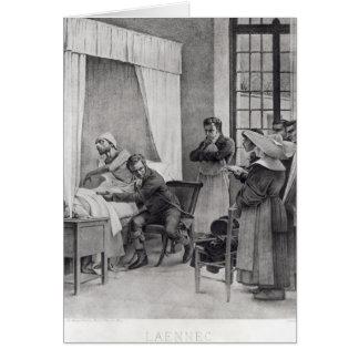 Rene Theophile Hyacinthe Laennec Tarjeta De Felicitación